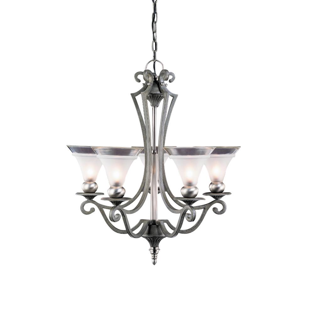Tuscan style 5 light chandelier free shipping today overstock tuscan style 5 light chandelier arubaitofo Choice Image