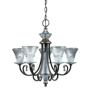 Olde Bronze 5-light Chandelier