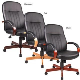 Copper Grove Hakai High-back Executive Leather Chair
