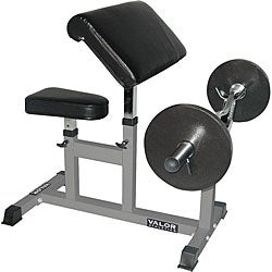 Valor Fitness Arm Curl Bench - Thumbnail 0