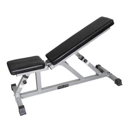 Valor Fitness Adjustable Weight Bench for Flat or Incline Bench Press DD-3 - Workout Benches for Home