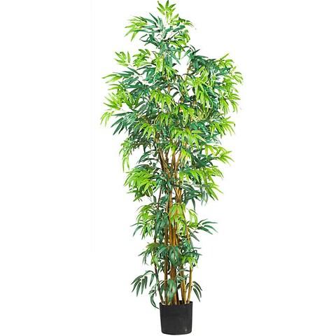 Silk Fancy Style 6-foot Bamboo Tree