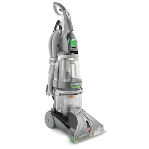 Hoover F7412900 Max Extract Upright Carpet Washer - grey