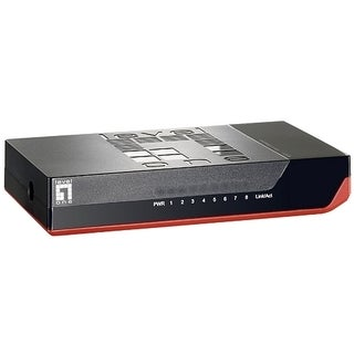 LevelOne FSW-0811 8-Port 10/100Mbps Ethernet Switch