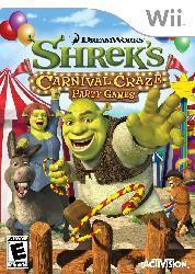 Wii - Shrek`s Carnival Craze