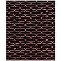 Hand-tufted Wool Black Kurt Rug (5' x 8')