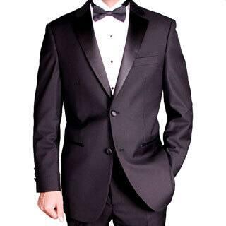 Men's Black 2-button Tuxedo