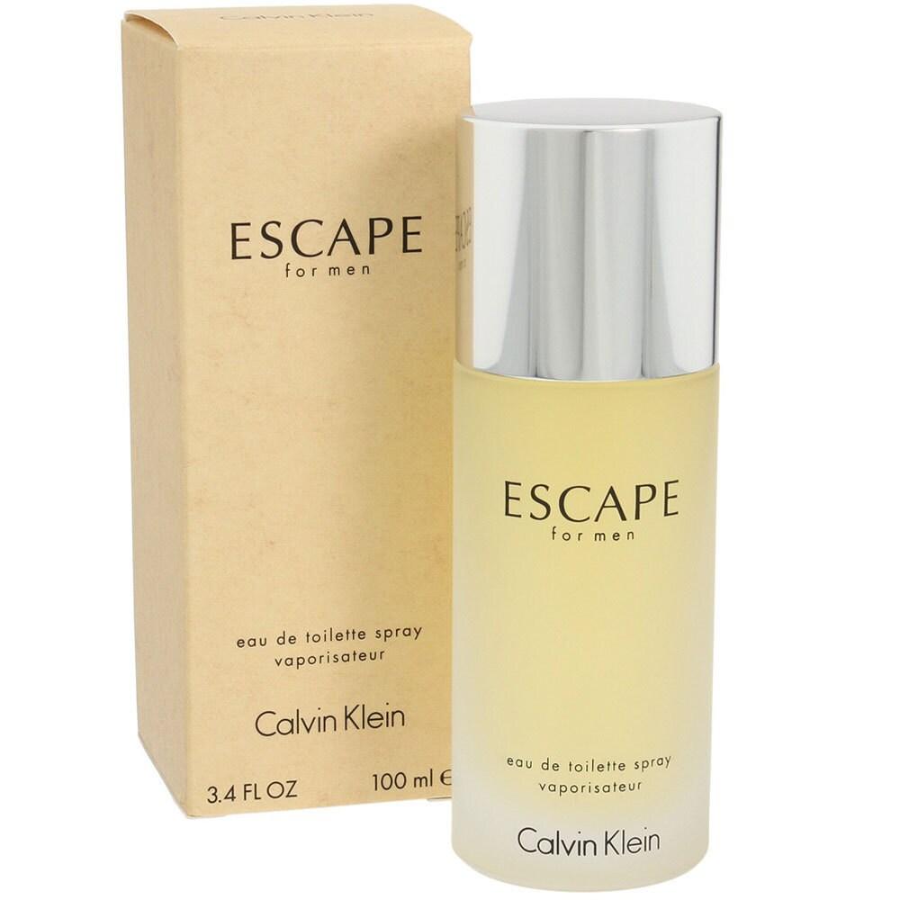 undefeated x nice cheap famous brand Calvin Klein Escape Men's 3.4-ounce Eau de Toilette Spray