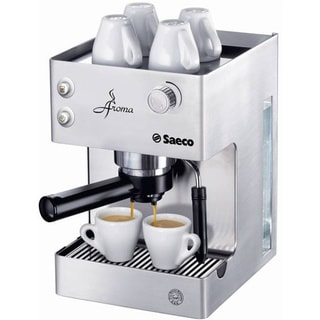 saeco ri9376 04 stainless steel aroma espresso machine free shipping today. Black Bedroom Furniture Sets. Home Design Ideas