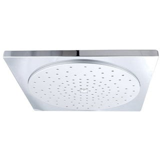 claremont square 12inch rain showerhead with 130 jets