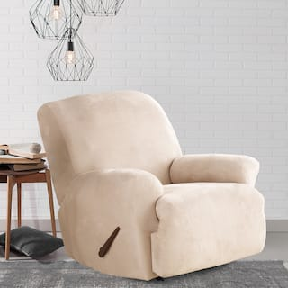 Buy Off White Recliner Covers Amp Wing Chair Slipcovers