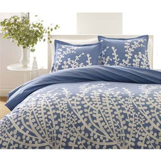 City Scene Branches French Blue 3-piece Comforter Set|https://ak1.ostkcdn.com/images/products/3248979/P11357365.jpg?impolicy=medium