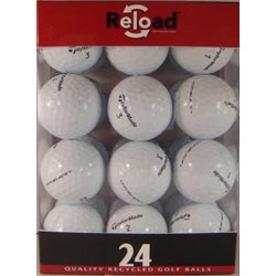 TaylorMade TP Black Recycled Golf Balls (Pack of 48)