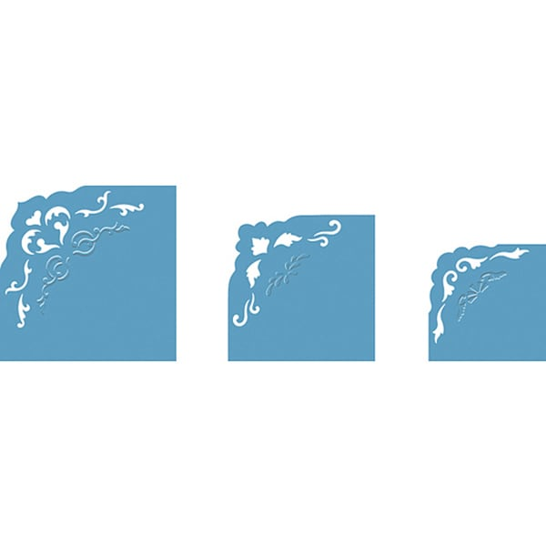 Fiskars Triple Sized 3-In-1 Embossing Corner Punch