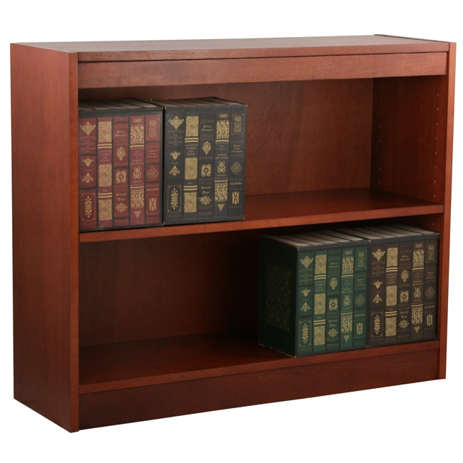 Ergocraft Laguna 2-shelf Wood Veneer Bookcase