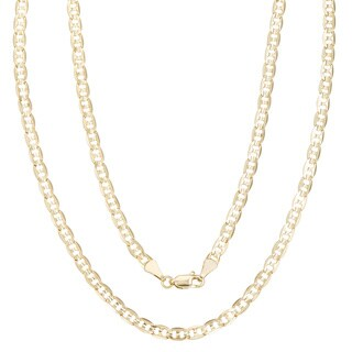 Simon Frank Gold Overlay 4mm Gucci-style Necklace (20-30 inch) (3 options available)