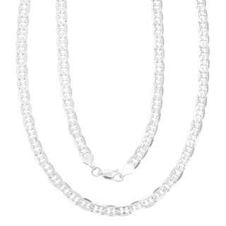 Simon Frank 14k Gold Overlay 6mm Necklace (24-inch)