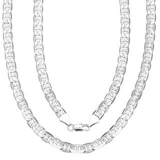 Simon Frank 14k Gold Overlay 30-inch Gucci-style Necklace 8mm