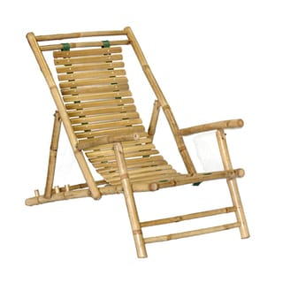 Handmade Set of 2 Bamboo Recliners (Vietnam)