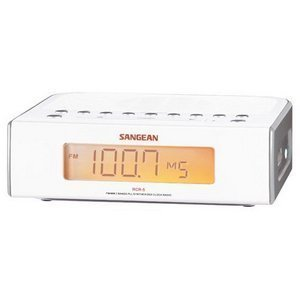 Sangean RCR-5 Clock Radio (AM/FM/Aux digital Clock Radio)