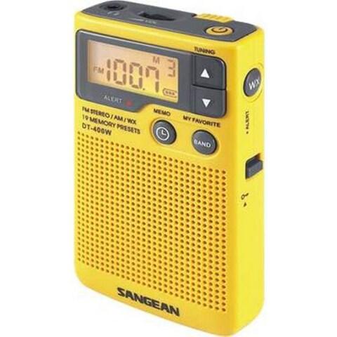 Sangean DT-400W Weather & Alert Radio