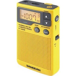 Sangean DT-400W Weather & Alert Radio