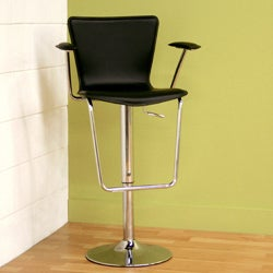 Leverett Black Bar Stool