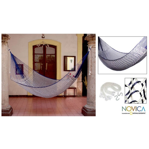 Ocean Waves Large Deluxe Hammock (Mexico)