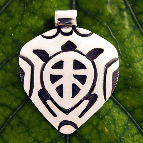 Sterling silver sea turtle pendant mexico free shipping sterling silver x27sea turtlex27 pendant aloadofball Image collections