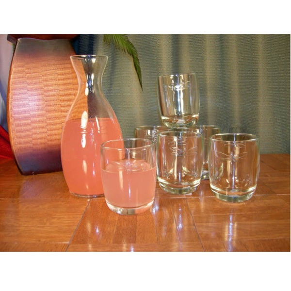 La Rochere Dragonfly 7-piece Juice Glass/ Carafe Set