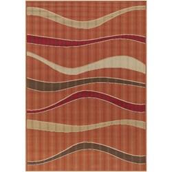 Artist's Loom Indoor/Outdoor Contemporary Geometric Rug (7'2 x 10'5)