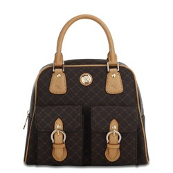 Rioni Signature Top Handle Organizer Handbag