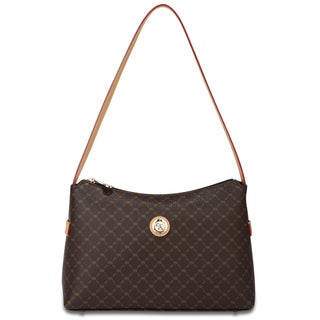 Rioni Signature Top Zip Shoulder Handbag