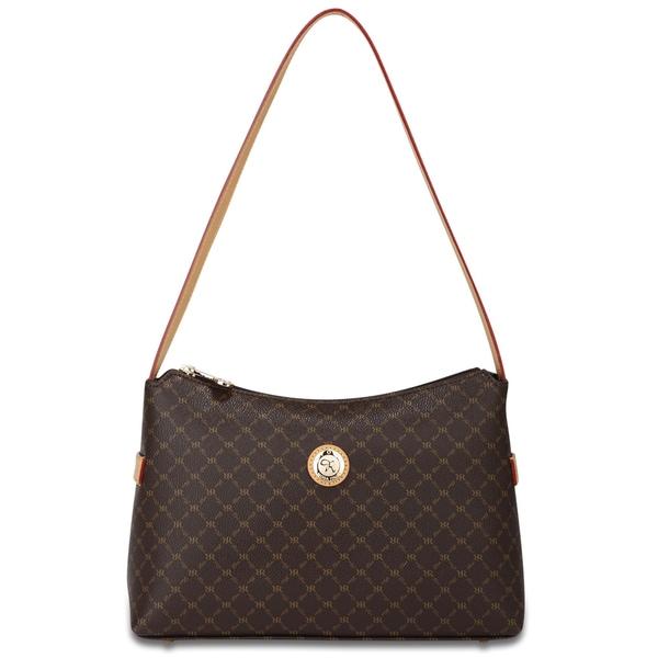 Rioni Signature Top Zip Shoulder Handbag
