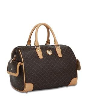 Rioni Signature Large Boston Handbag