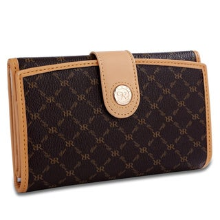 Rioni Signature Multi-fold Button Wallet