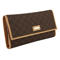 Rioni Signature Checkbook Wallet