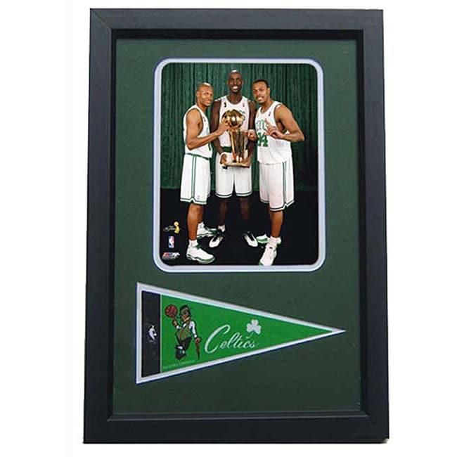 Boston Celtics Big 3 Championship Print