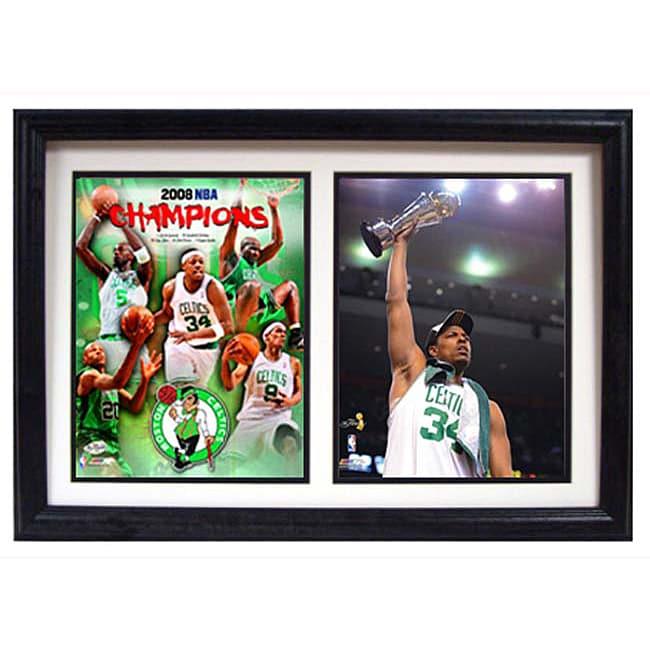 Boston Celtics 2008 Championship/ MVP Print