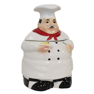 Plump Chef 4-piece Kitchen Canister Set