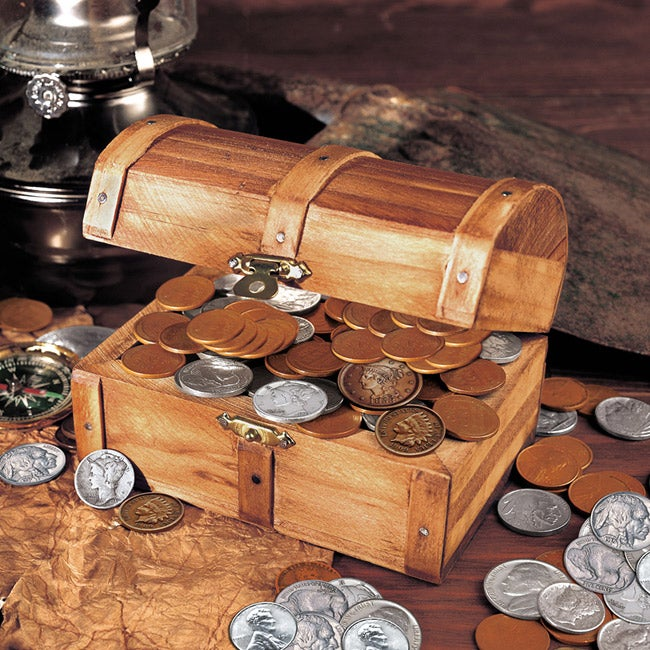 American Coin Treasures Treasure Chest of 51 Historic Coins