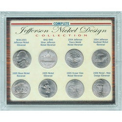 American Coin Treasures Complete Jefferson Nickel Design Collection