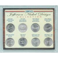 American Coin Treasures Complete Jefferson Nickel Design Collection