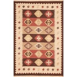 Hand-woven Vanilla Wool Rug (8' x 10')