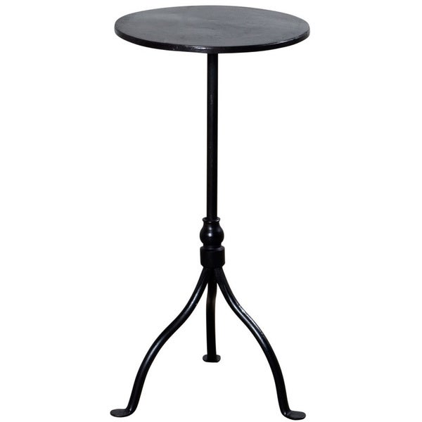 Handmade Simple Iron Stool (India)