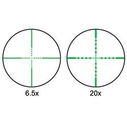 Barska 6.5-20x40 Illuminated Tactical Riflescope - Thumbnail 2