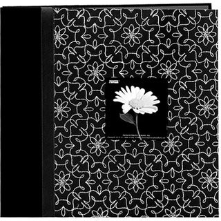 Fabric Frame Black and White 12x12 Album with 40 Bonus Pages