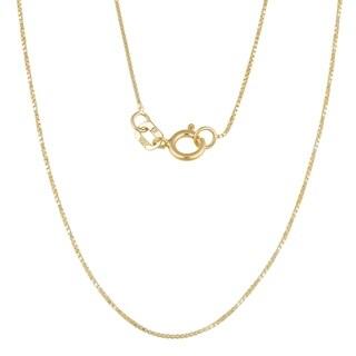 Fremada 10k Yellow Gold 0.6-mm Box Chain (16-24 inches)|https://ak1.ostkcdn.com/images/products/3261756/P11367938.jpg?_ostk_perf_=percv&impolicy=medium