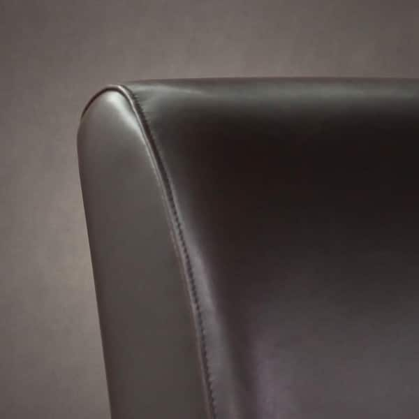 Groovy Shop Cole Dark Brown Leather Loveseat Free Shipping Today Pdpeps Interior Chair Design Pdpepsorg