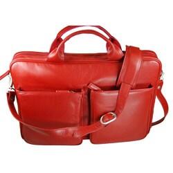 Castello Romano Small Top-Zip Briefcase